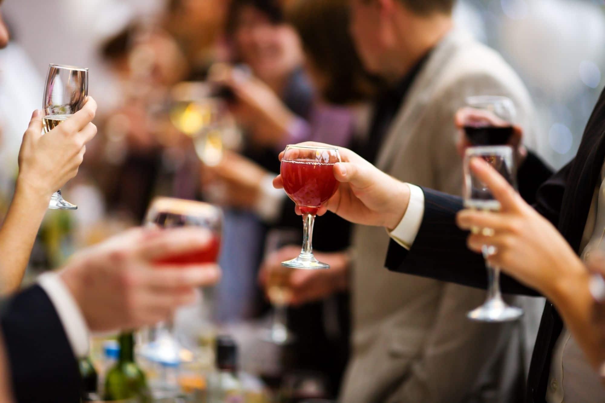 quantidade de bebidas para o casamento