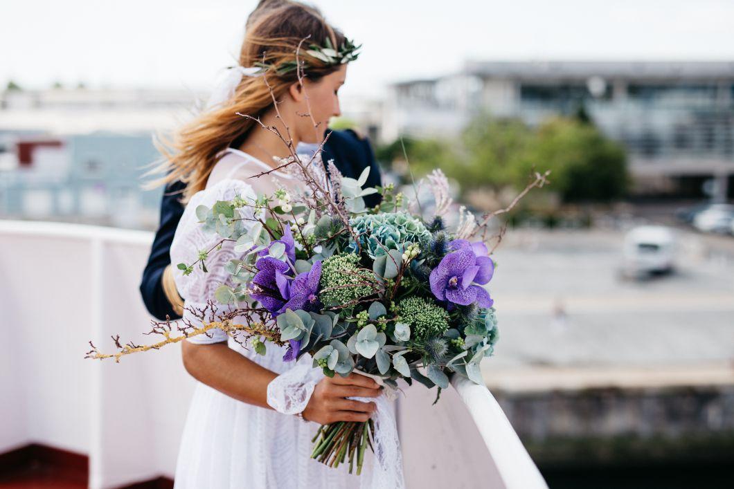 tipos de buque de noiva
